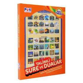 Talimli Sure ve Dualar Sesli Pati Tablet
