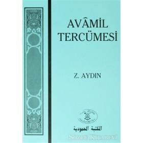 Avamil Tercümesi Z.Aydın mavi kapak